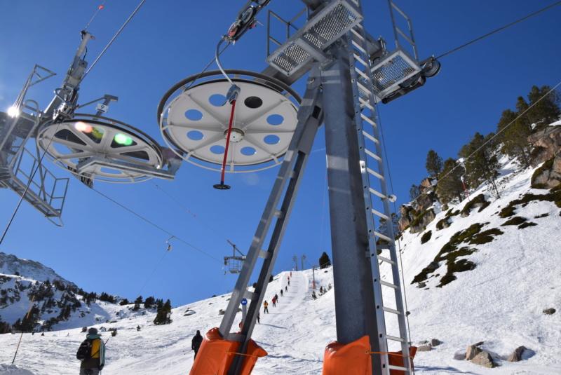 Téléski à enrouleurs 1 place (TKE1) Montmalus - Telesquies Tke1-m27