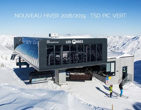 Construction télésiège débrayable Pic Vert, Les Orres D-Line Doppelmayr Ts-pic10