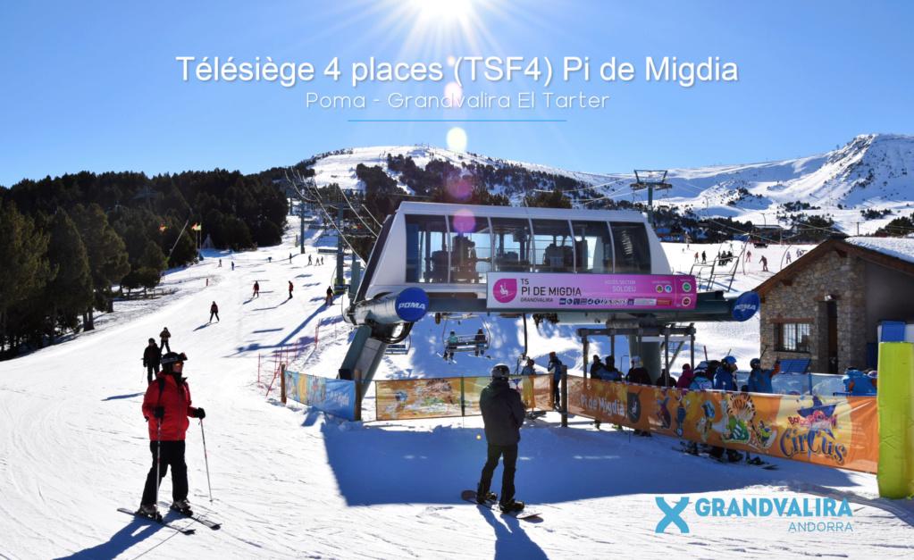 Télésiège fixe 4 places (TSF4) Pi de Migdia - Telesillas Tsf4-p18