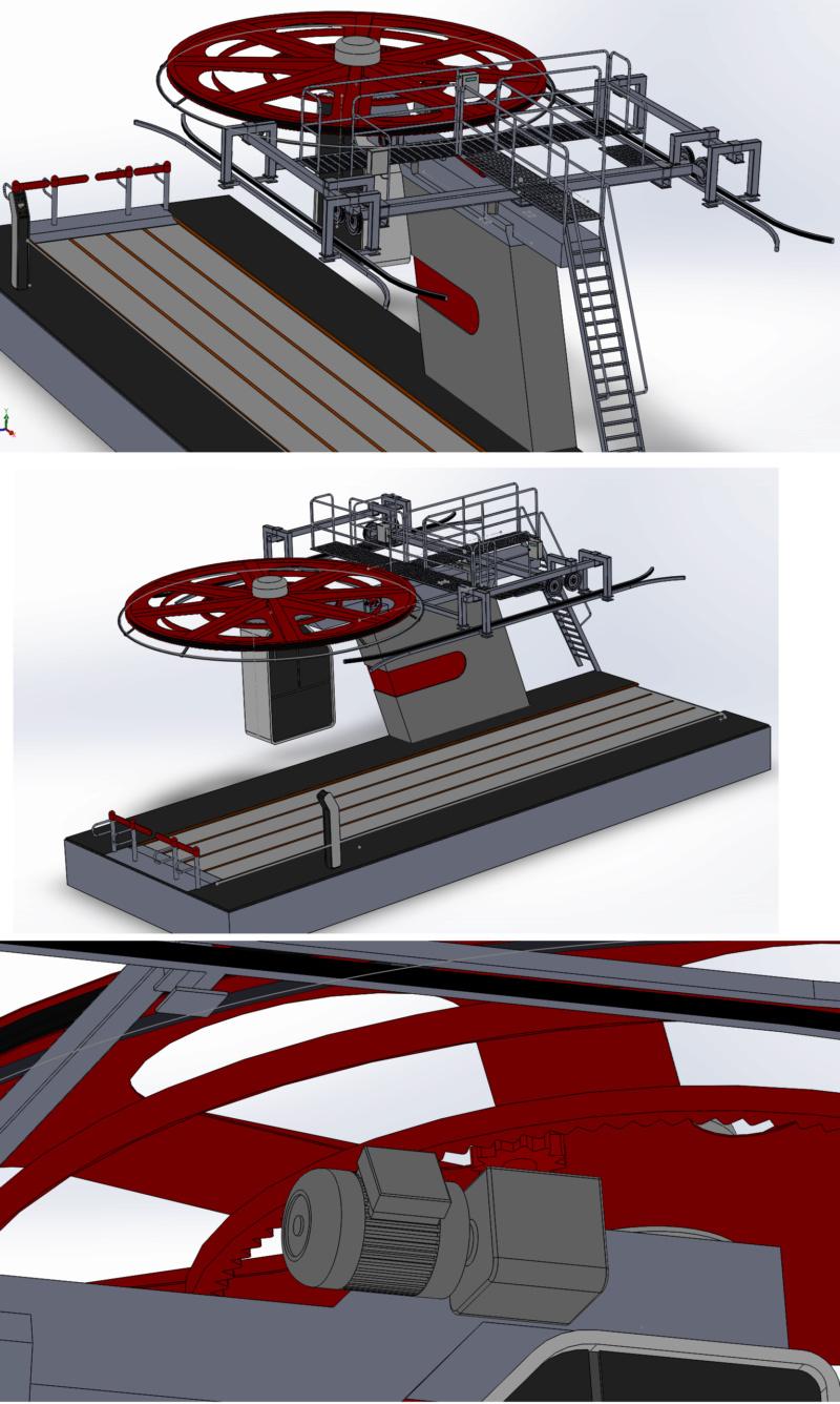 Dessins techniques & plans 3D remontées mécaniques Tsf_so11
