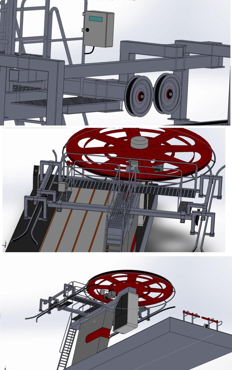 Dessins techniques & plans 3D remontées mécaniques Tsf_so12