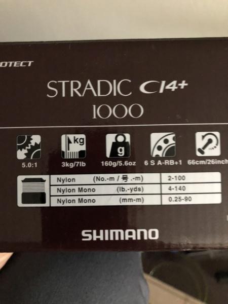 [VENDO] mulinello Shimano stradic Ci4+ 1000 FB 95495c10