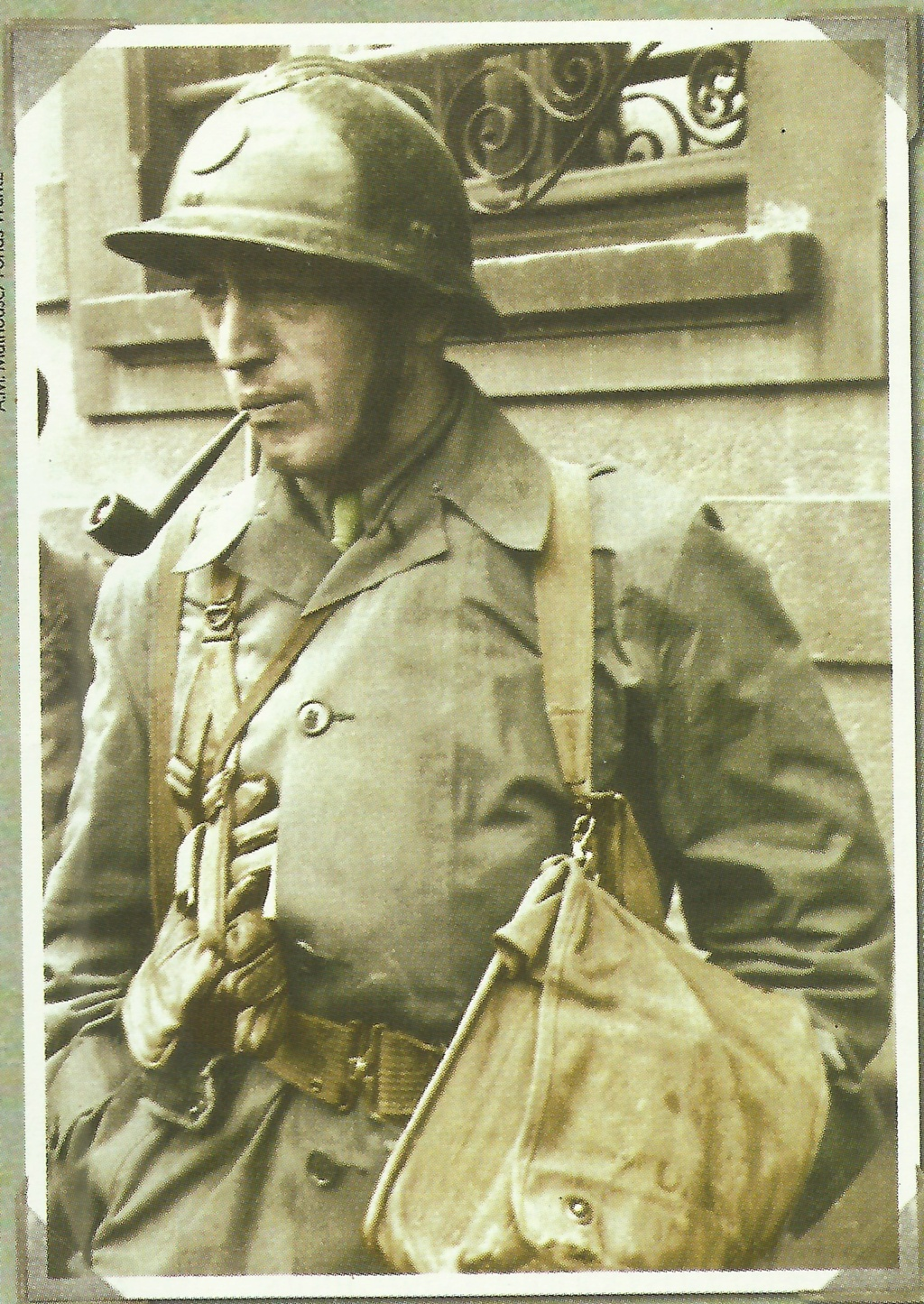 Photo de soldat, libération de Mulhouse 1944 Numzor10