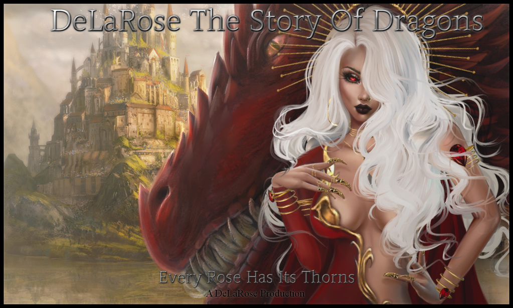 DeLaRose the First Novel, Every Rose Has Thorns Book_o10