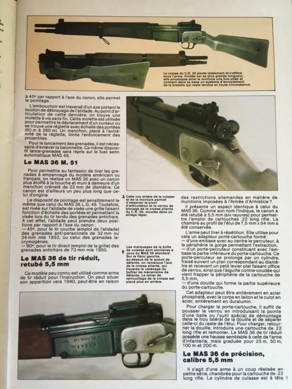 Fusil MAS 36 en images