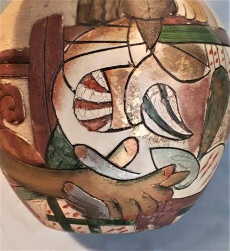 abstract figure vase Water112