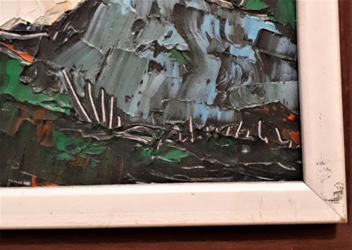 expressionism landscape painting Water118