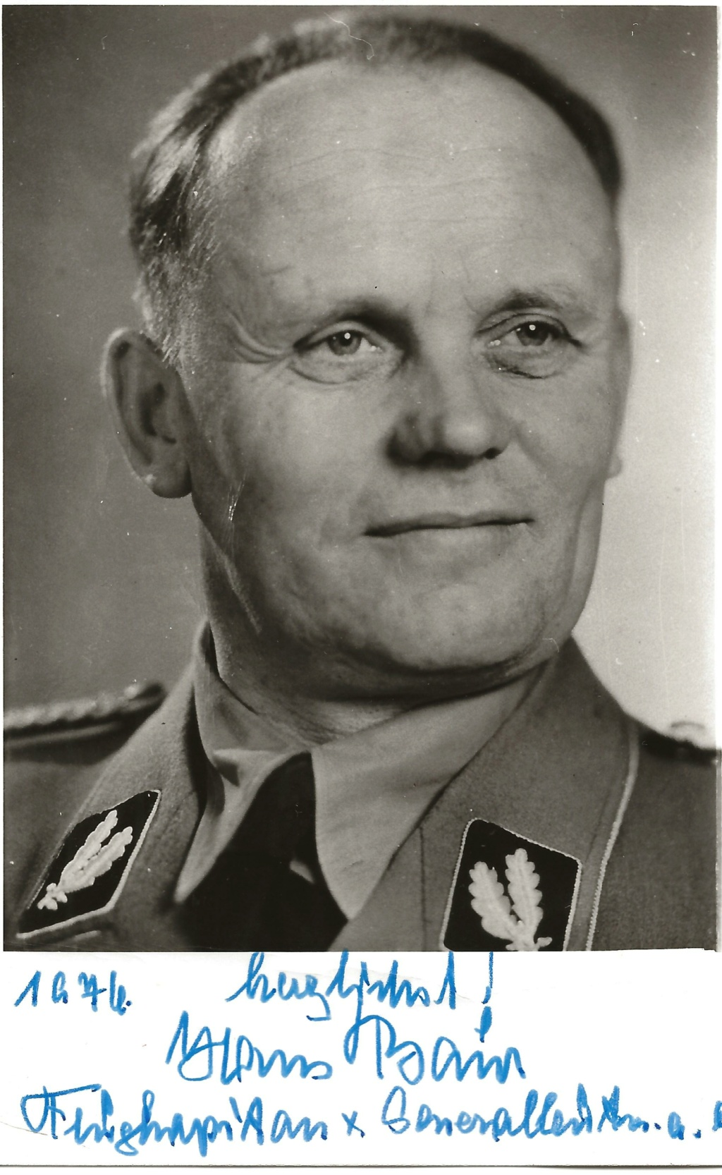 autographe Hans Baur Hans_b10