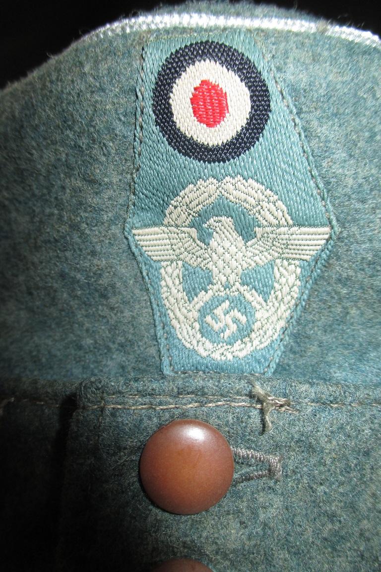 casquette officier M43 Polizei Img_1519