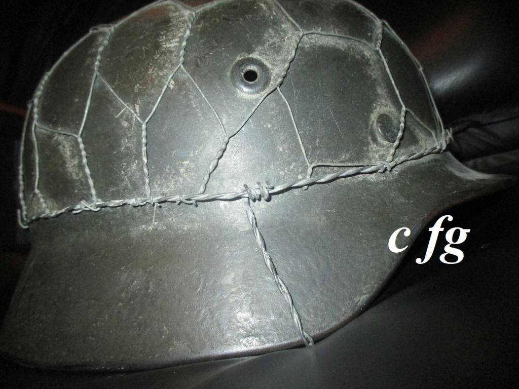 casque M40 grillagé Img_5326