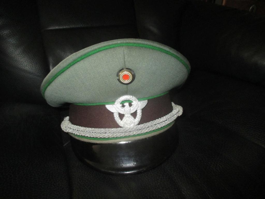 casquette officier Schutzpolizei Img_5729