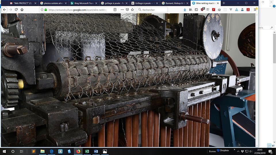 casque M40 grillagé - Page 2 Machin10