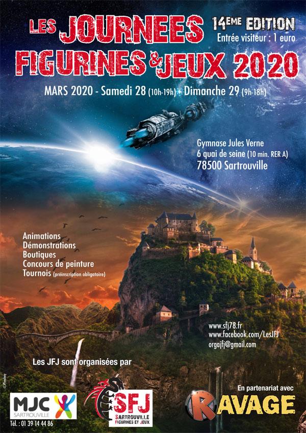 [Région Parisienne] JFJ 2020 la 14ème !! Sartrouville !! 78 !! 28 & 29 Mars 2020 Affich12