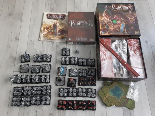 [VENTE/ECHANGE] Necromunda, 40k, AOS, Blood Bowl, Runewars, Malifaux, Battle System, DMH, Wrath of Kings, DC, etc... Runewa11