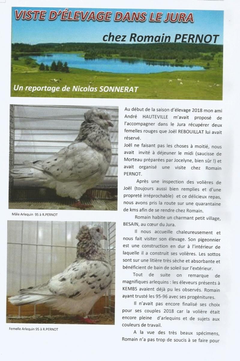 CHEZ ROMAIN PERNOT  ( REPORTAGE DE NICOLAS SONNERAT) 910