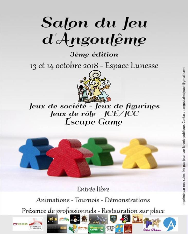Salon du Jeu Angoulême 13-14 octobre 2018 - Page 2 Affich10