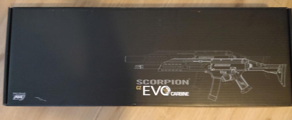 ASG Scorpion EVO 3A1 - Carbine  Boite112