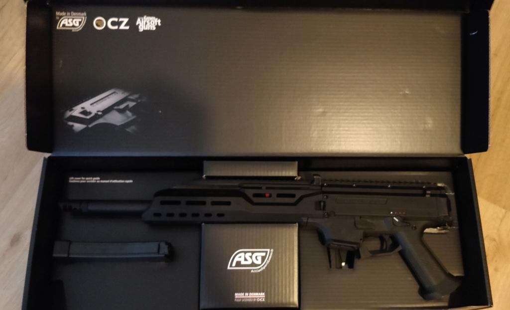 ASG Scorpion EVO 3A1 - Carbine  Boite210
