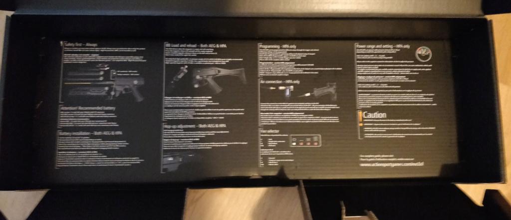 ASG Scorpion EVO 3A1 - Carbine  Boite310