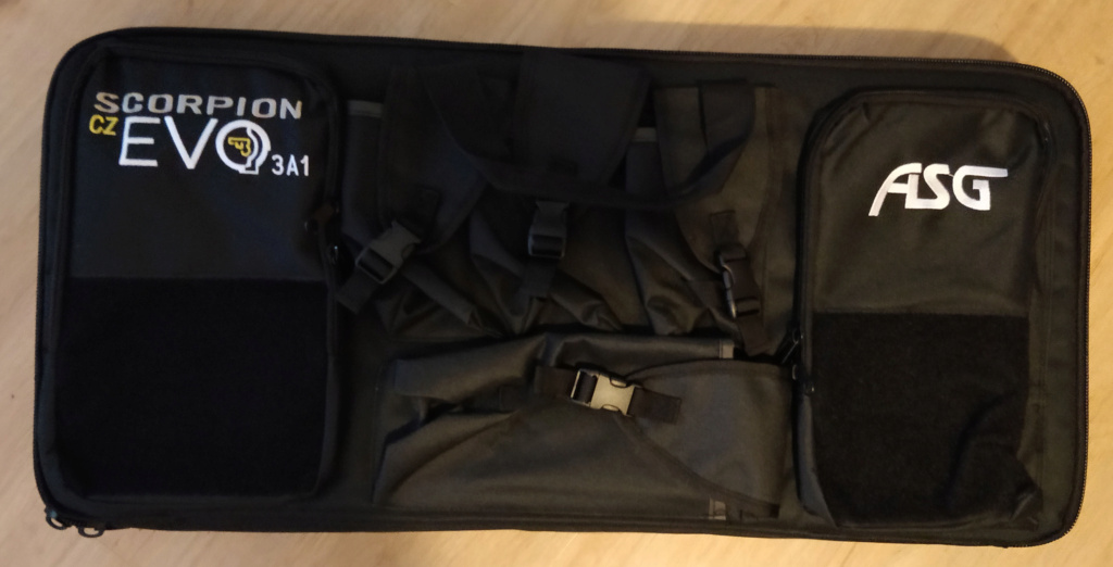 ASG Scorpion EVO 3A1 - Carbine  Case210