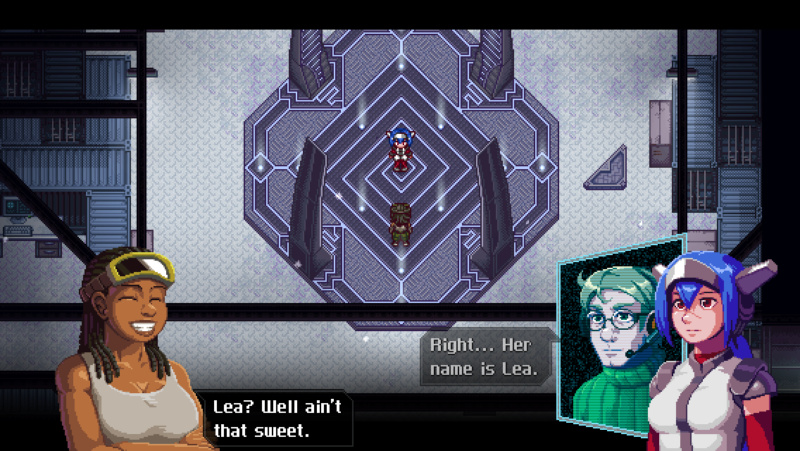 JRPG - News: Sci-Fi Adventure-RPG CrossCode Sails Onto The Nintendo Switch And PS4 Next Month! Carla-10