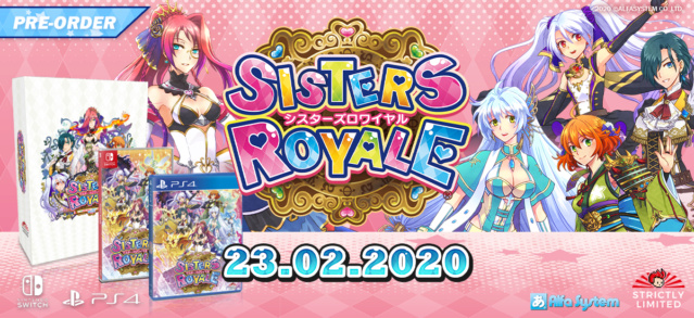 News: Sisters Royale Limited Editions Available At StrictlyLimitedGames' Website, Plus Game Details! Sister11