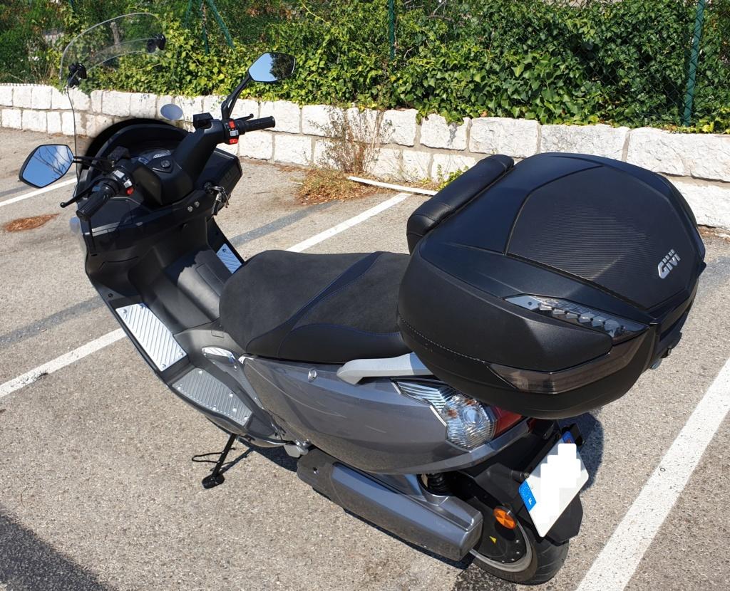 Faucon E9 un scooter électrique 125 rapide Faucon21