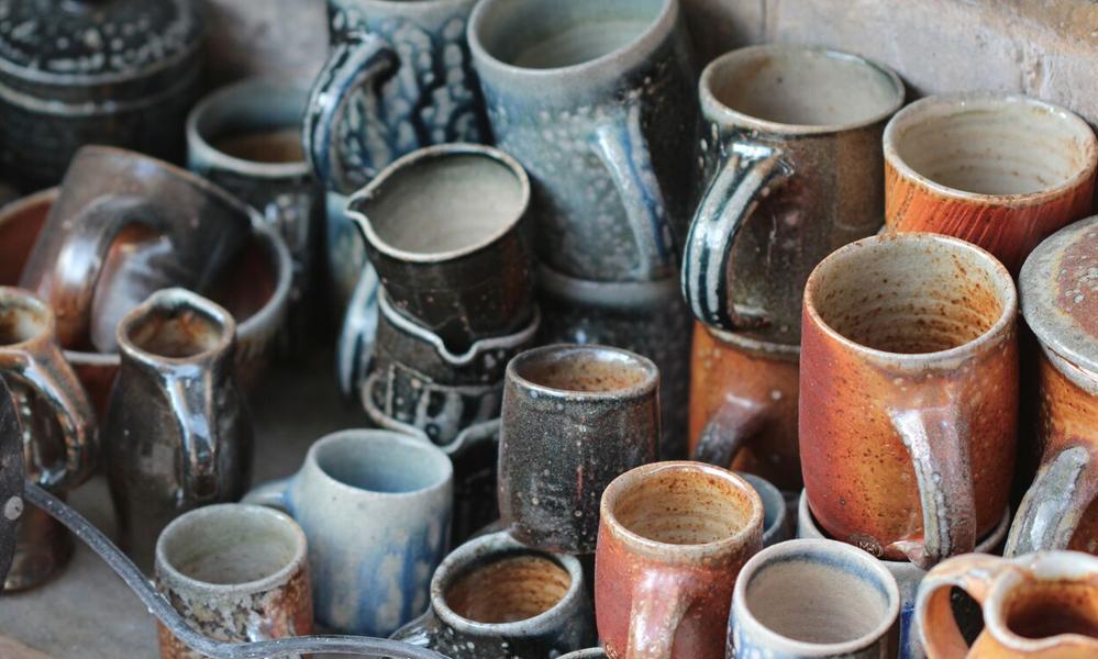 Not SALT GLAZED MUG - Maze Hill Pottery Fg_3110