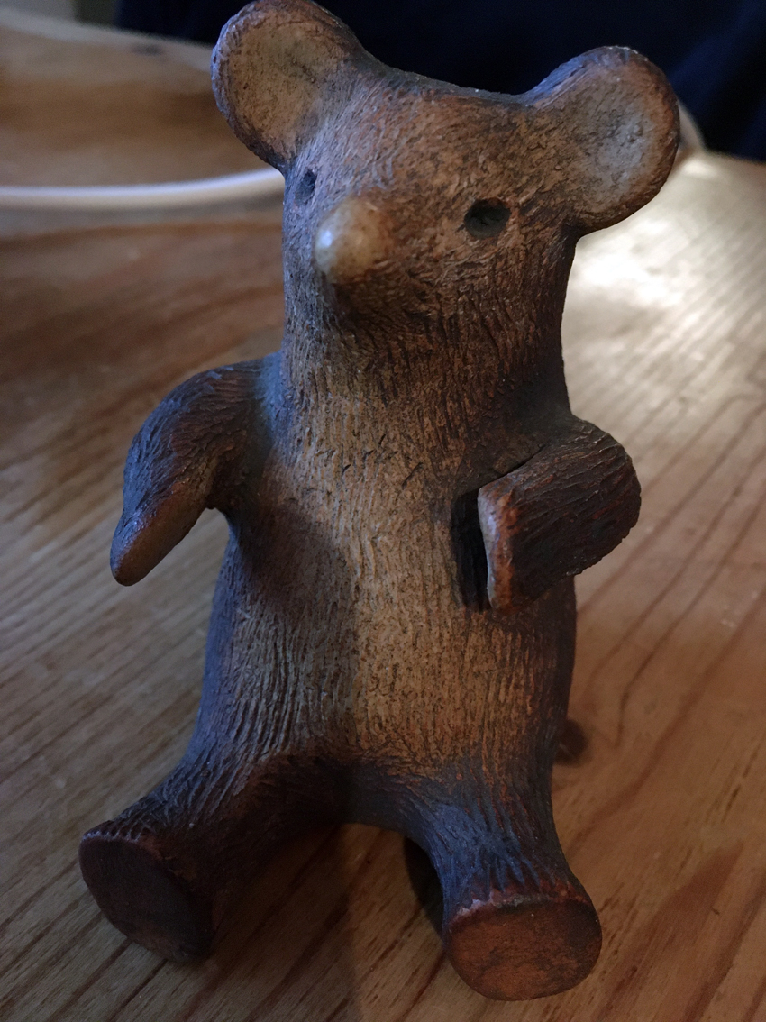 SONE WARE FIGURE OF A BEAR - SCANDINAVIAN? Img-1011