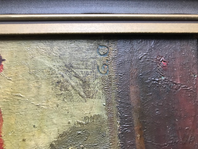 OIL ON BOARD SIGNED G.O Img_2221