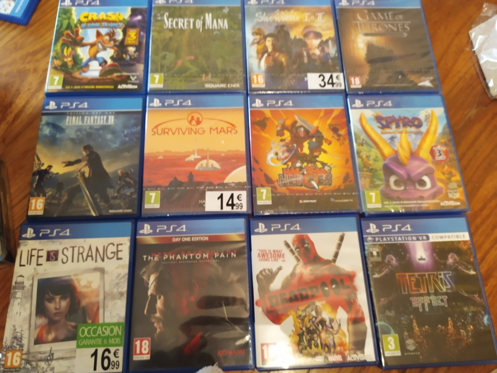 [Vds] PS Vita, PS3, PS4, STEELBOOK... LOT 63JEUX VITA - Page 8 Img_2035