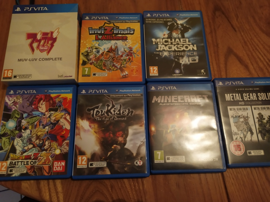 [Vds] PS Vita, PS3, PS4, STEELBOOK... LOT 63JEUX VITA - Page 8 Img_2051