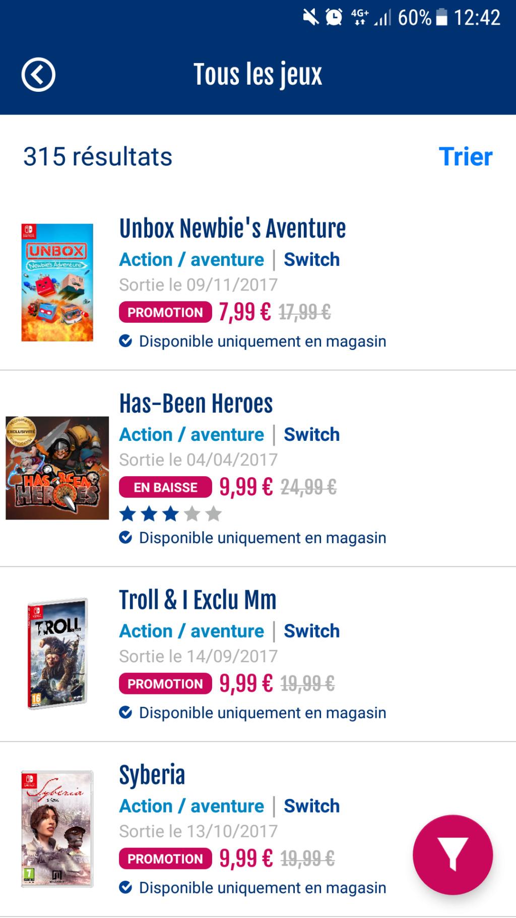 Vu dans les grandes enseignes (Auchan, Carrefour, FNAC...) - Page 3 Screen16