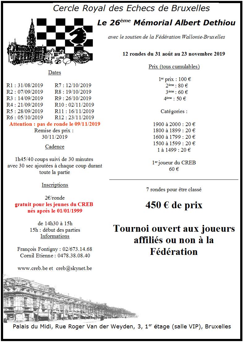 26ème Mémorial Albert Dethiou du 31/08/2019 au 23/11/2019 Dethio10