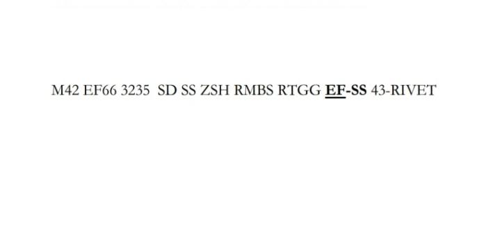 identification M42 taille 66 numéro 3235 Casque12