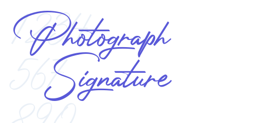 خط انجليزي جميل _ خط Photograph Signature _ خط جميل للتواقيع Img_ee10