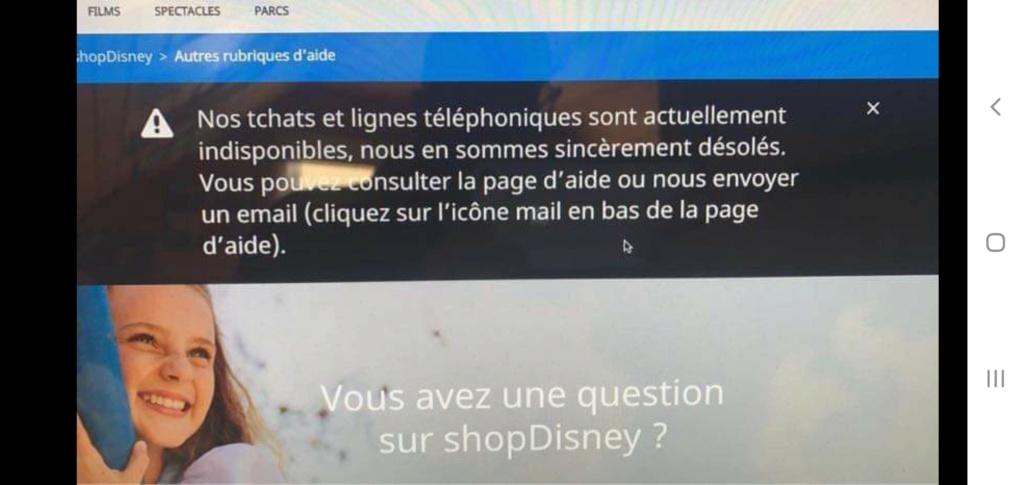 Disney Store : Conseils et problèmes concernant les commandes et les livraisons - Page 38 Screen31