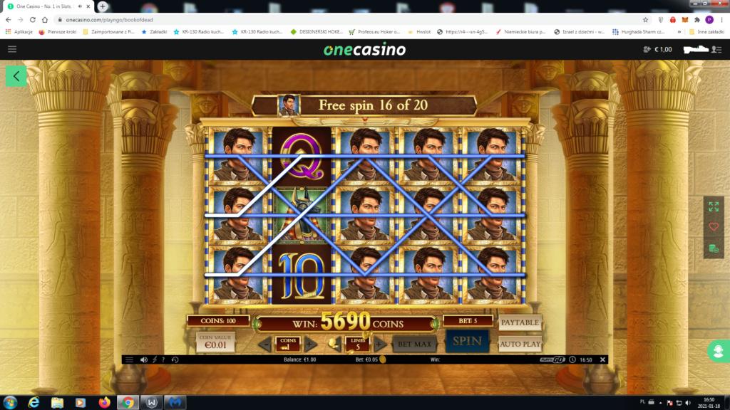 Screenshoty naszych wygranych (minimum 200zł - 50 euro) - kasyno - Page 14 One10