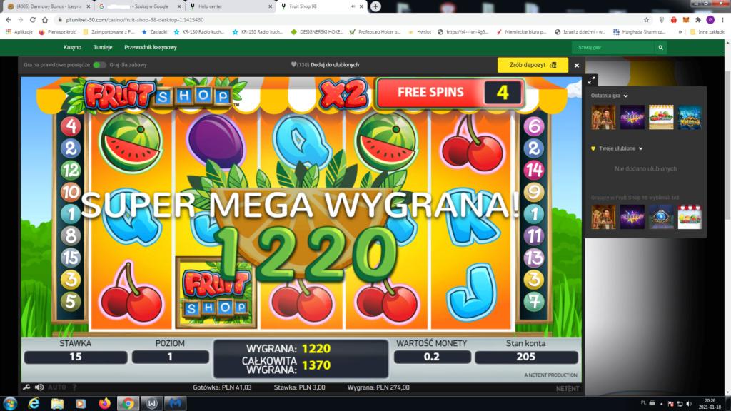 Screenshoty naszych wygranych (minimum 200zł - 50 euro) - kasyno - Page 14 Uniwin10