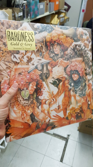 Baroness - Gold & Grey 20190611