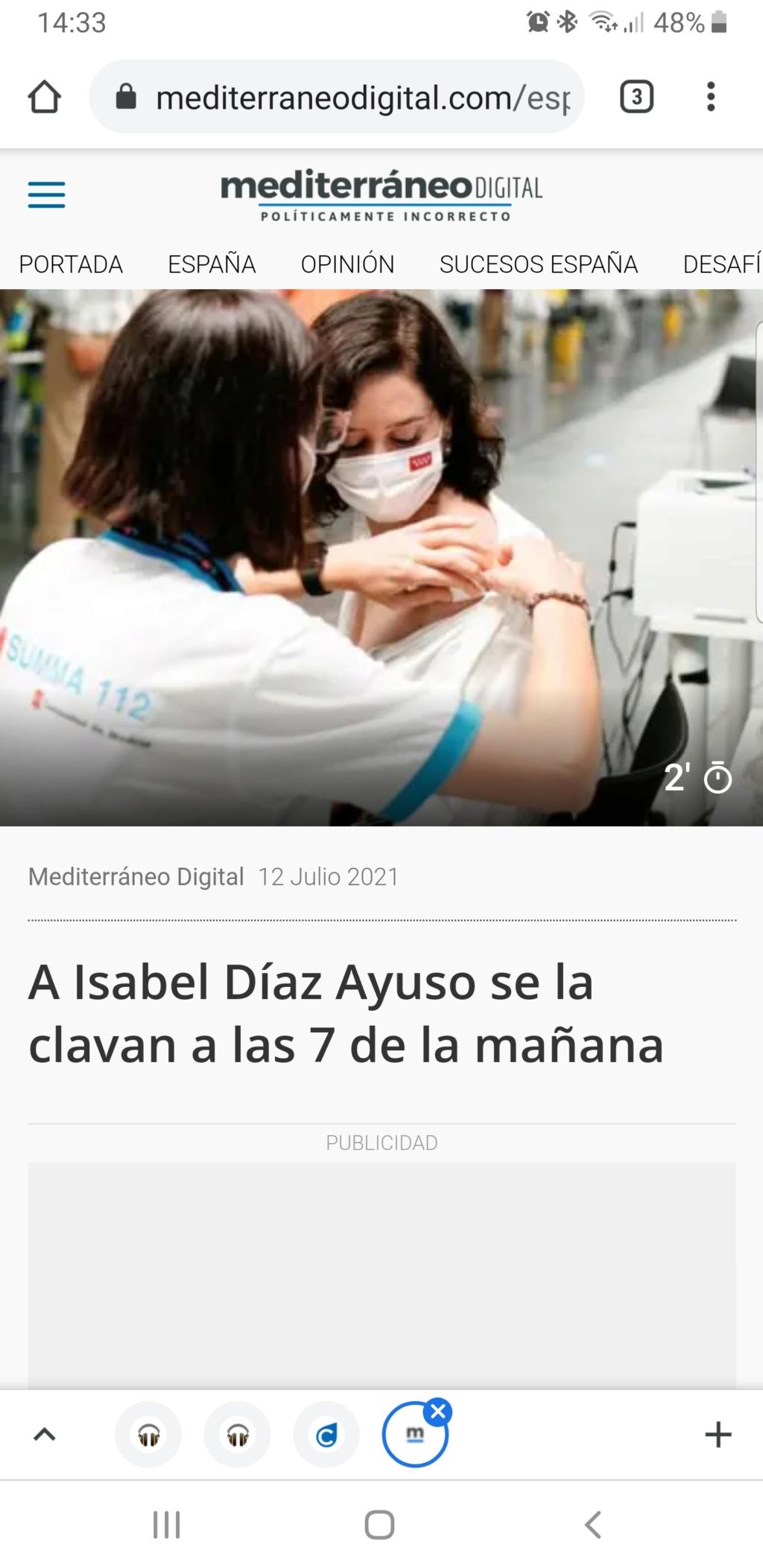 Isabel Díaz Ayuso - Página 20 Scree123