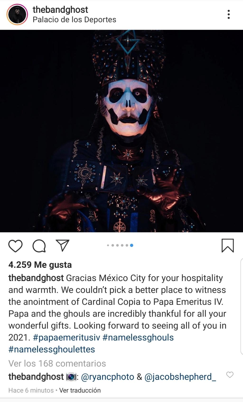 Papa Emeritus y sus discípulos reparten misas oscuras - Página 3 Screen91