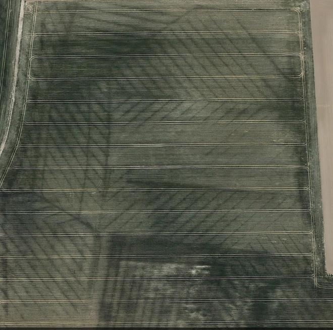 Plan de drainage sur google earth Drinag10