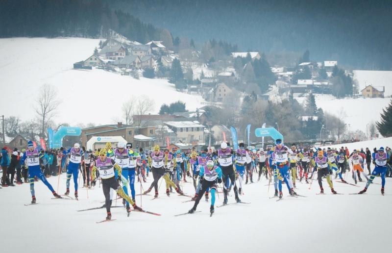 La mythique Foulée Blanche - 42 km de ski nordique et ses 1743 particpants Ski_no10