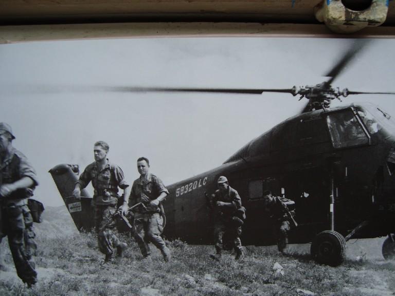 3 ans chez Bigeard .. Opération Atlas .... Photos30