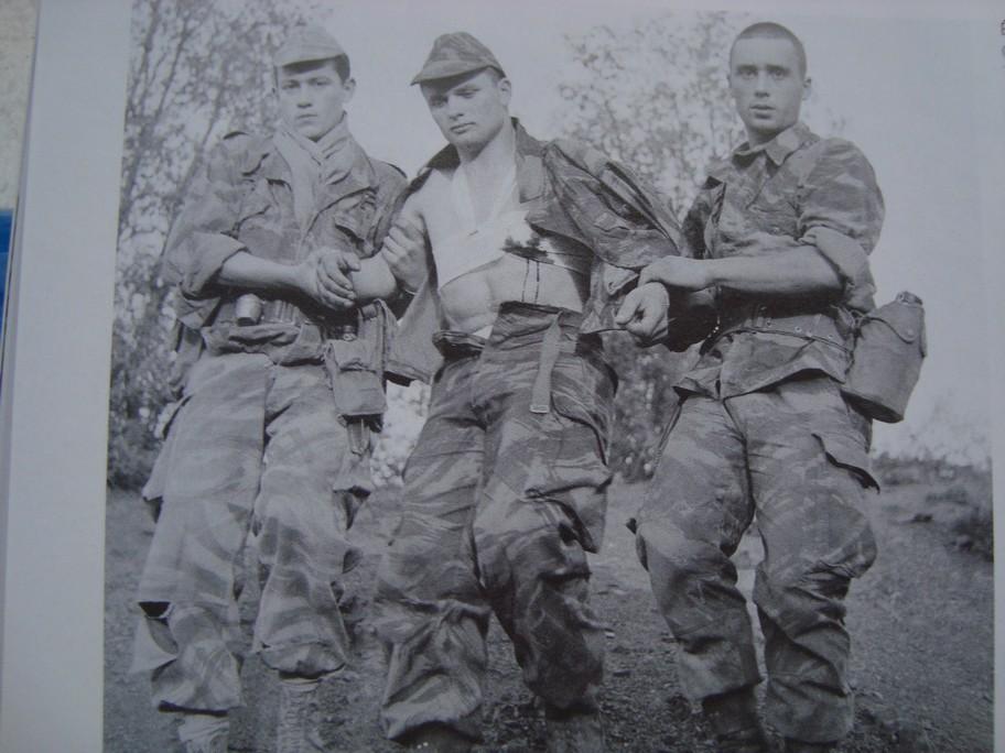 Combat dans les gorges de La Chiffa Algérie avril 1957 Photos75