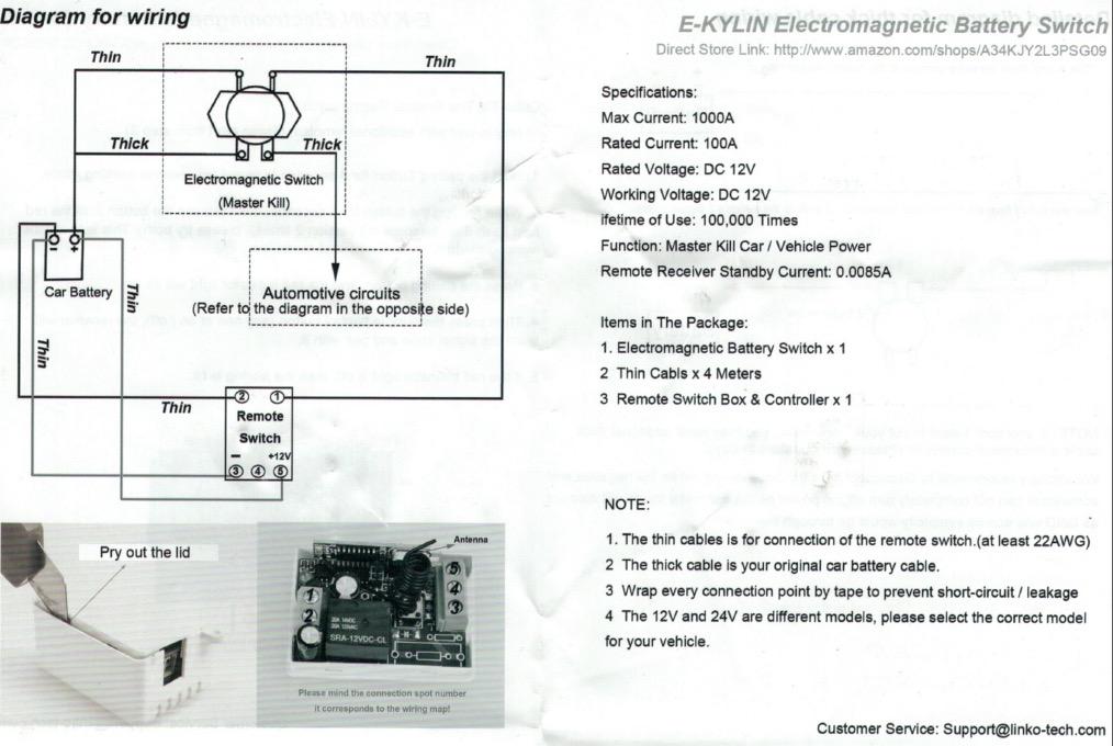Coupe-circuit à télécommande bluetooth Captur12