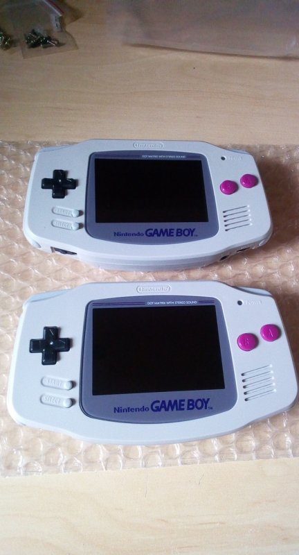 Console Game Boy Adance backlight mod ASG-101 et custom - Page 2 33364512