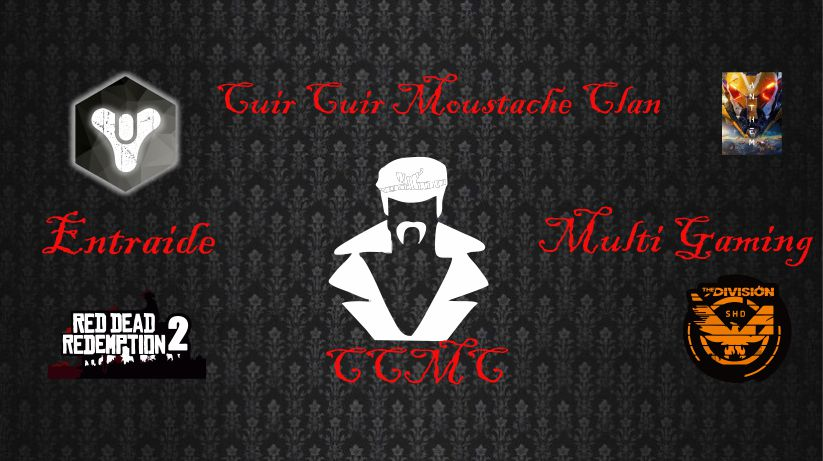 Cuir Cuir Moustache Clan
