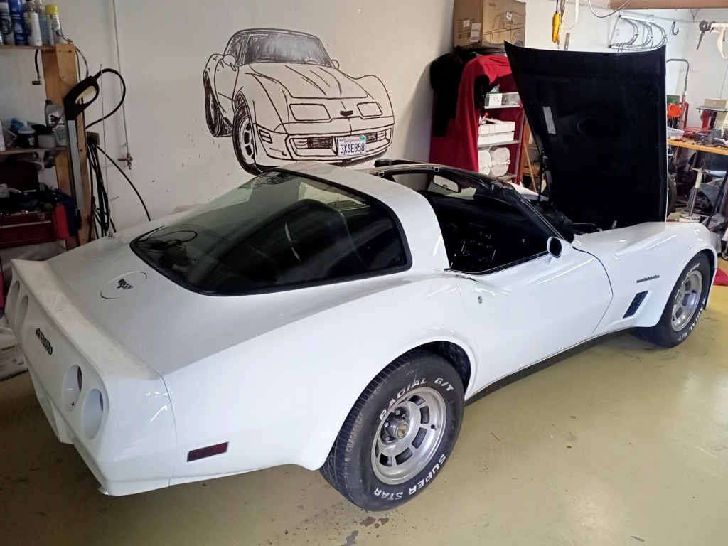 1982 Corvette C3 crossfire converti au carburateur 16081311